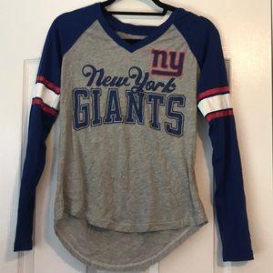 New York Giants V Neck